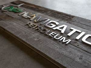 reclaimed wood signs custom made and sourced in idaho With wood sign with metal letters