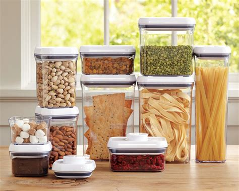 oxo kitchen storage containers oxo pop containers set of 10 williams sonoma au 3911