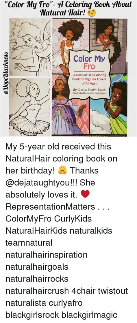 color  ro fl coloring book flbout natural hair color