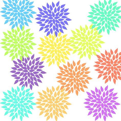 12 pastel hydrangea clip art flower graphics clipart for
