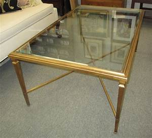 elegant gold and glass coffee table house photos With glass coffee table gold frame