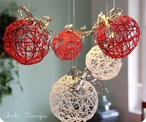 Fabriquer Un String : tutos boules de no l en laine ~ Zukunftsfamilie.com Idées de Décoration