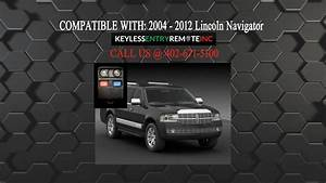 How To Replace Lincoln Navigator Key Fob Battery 2004 2012