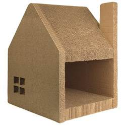 cardboard house for cats cardboard cat house cat scratcher play house could be