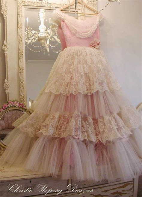 shabby chic cocktail dress romantic cottage photo vintage pinterest shabby chic fabulous dresses and pink prom dresses