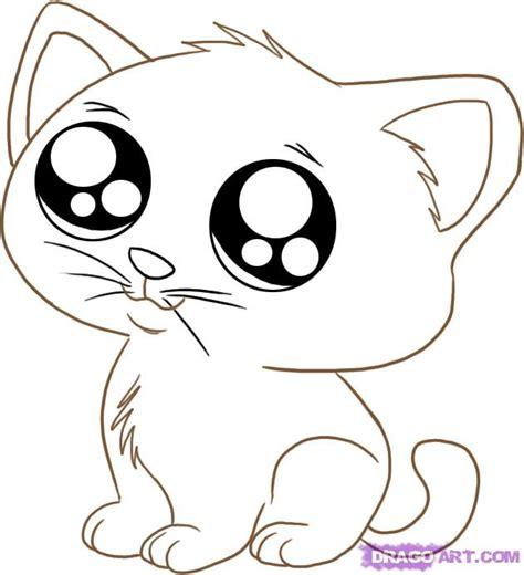 draw  anime cartoon kitty step  step anime