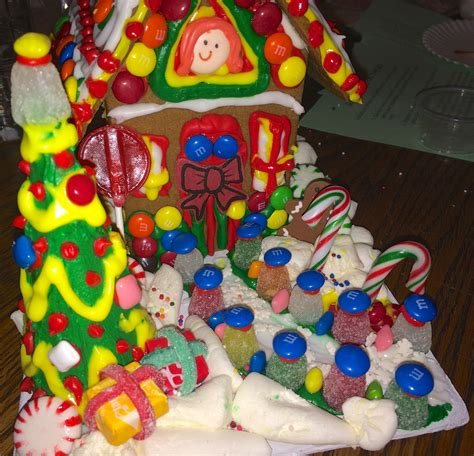 House With Nautically Themed Folk by Gingerbread House Decorating With