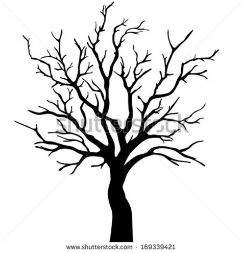 Tree Template Black And White by Tree With Roots Outline Pictures To Pin On Pinterest