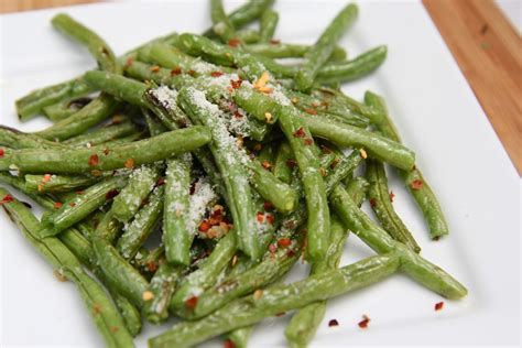 what to do with fresh green beans roasted fresh green beans recipe parmesan garlic divas can cook