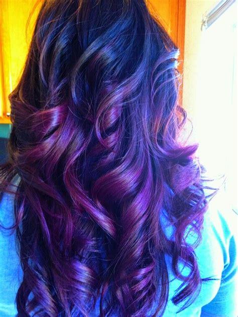 Purple Hair Color Ideas Shades Of Purple