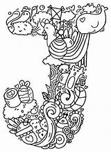 Doodle Alphabet Drawings Drawing Elephant Bell Doodles Measles Letter Coloring Pages Letters Artpal Colouring Getdrawings Illustration Lettering Room Zentangle Cb sketch template