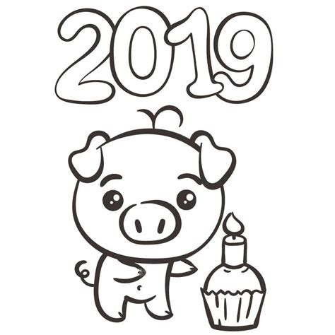 year  coloring pages    print