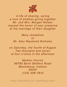 creative wedding quotes quotesgram With samples of unique wedding invitation wording