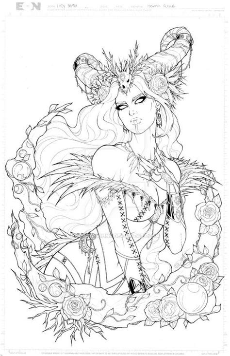 Pin by Samantha Heil on coloring pages in 2019 | Witch coloring pages, Coloring pages, Fairy