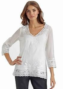 ELIE TAHARI White Eyelet Embroidered LAUREN Tunic Blouse Top NWT MEDIUM EBay