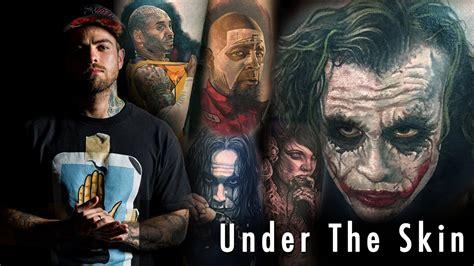 tattoo  joker steve butcher   skin youtube