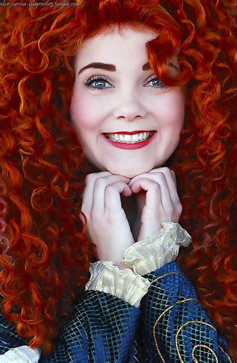 Merida up close | Disney face characters, Merida disney ...