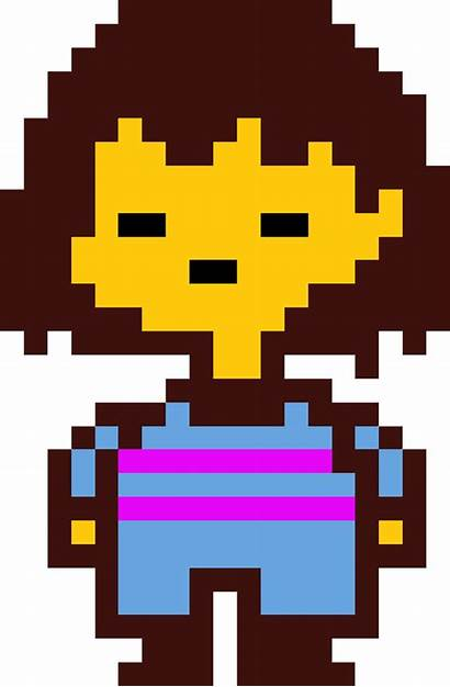 Frisk Undertale Sprite Pixel Chara Meme Skin