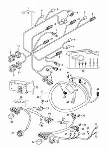 2009 Audi R8 Control Unit For Air Condit  Connecting Piece