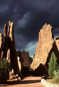 Garden Of The Gods Is A Public Park Located In Colorado