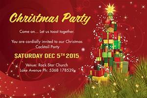 Free 29 Psd Christmas Invitation Card Designs In Psd Ms