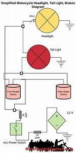 12  Motorcycle Brake Light Switch Wiring Diagrammotorcycle