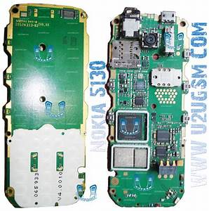 Nokia 5130 Full Pcb Diagram Mother Board Layout