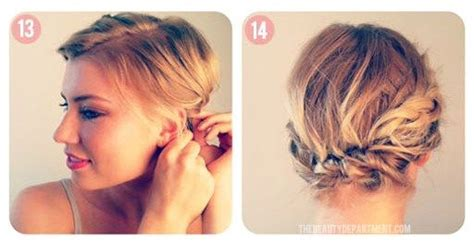 hair  makeup tutorials short hair styles braids