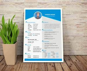 50 beautiful free resume cv templates in ai indesign With cv format free download