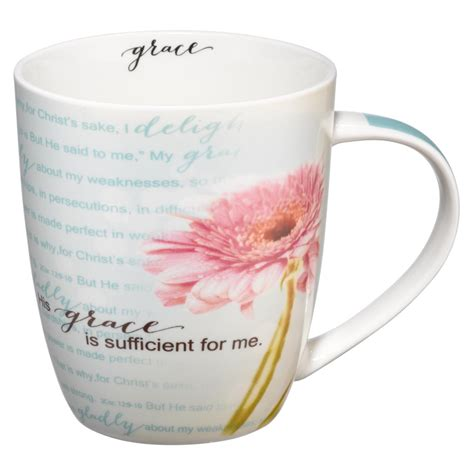 Is a restaurant featuring online coffee shop food ordering to maryville, tn. His Grace is Sufficient Coffee Mug - 2 Corinthians 12:9-11 | Free Delivery when you spend £10 ...