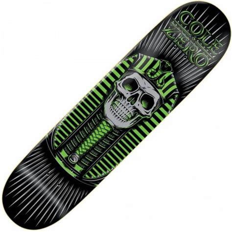 zero decks 80 zero skateboards zero chris cole pharoah green deck 8 0
