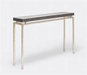 Made Goods Benjamin Narrow Console Table Silver – CLAYTON ...