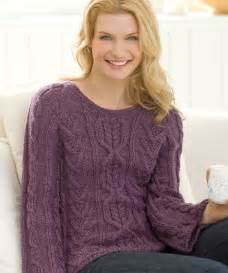 Knitting Patterns Cable Knit Sweaters