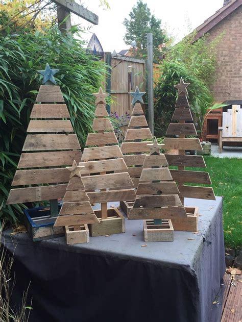 weohmschtsbaum dekoration selsbt mschen tannenb 228 ume aus recyceltem holz krimskrams basteln weihnachten weihnachtsbaum und
