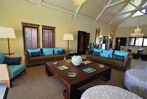 Salle De Bain Contemporaine : stunning salon bleu turquoise chocolat images amazing ~ Dailycaller-alerts.com Idées de Décoration