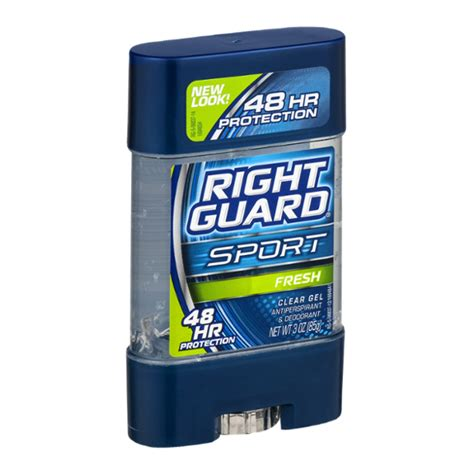 Right Guard Sport Clear Gel Antiperspirant & Deodorant