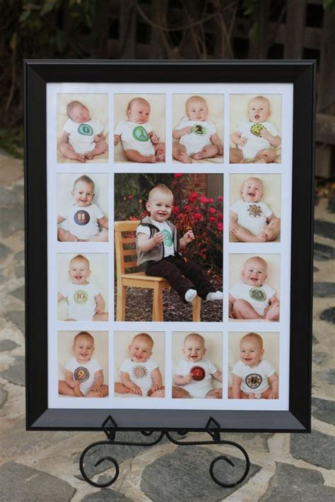Babys First  Ee  Year Ee   Birth To  Month Photo Frame Or