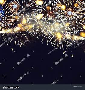 Fantastic Colorful Fireworks Copyspace Background New ...
