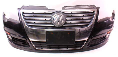 genuine front bumper cover   vw passat  lcx black pearl