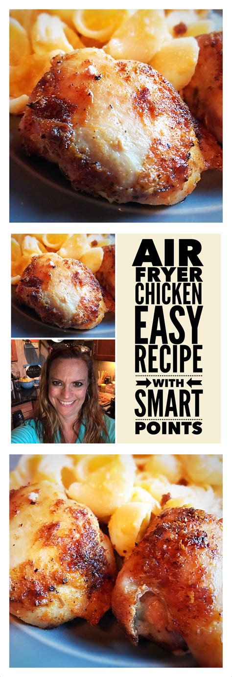 fryer chicken thighs air smart points breasts recipes ifyouhaveanegg freestyle fry thigh breast fsp zero power xl cooking second bacon