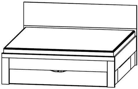 Rauch Rivera Sonoma Oak Double Bed, Plinth Drawers