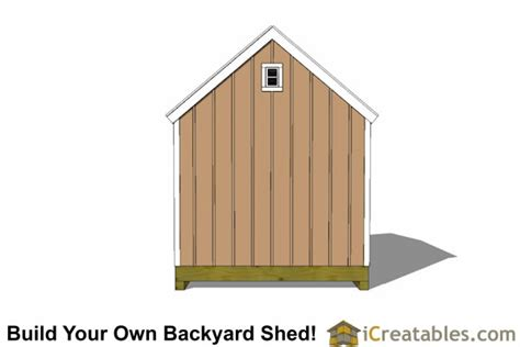 10x12 colonial shed plans large shed door