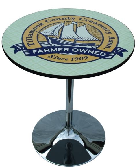 logo graphic table top  trade shows