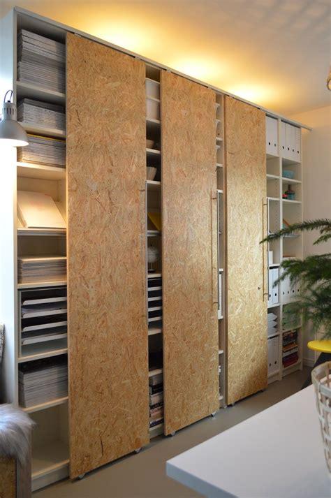 DIY Schiebetüren selber machen IKEA Hack Billy (7