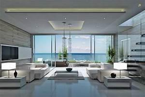 Villa salon style house design hd wallpaper
