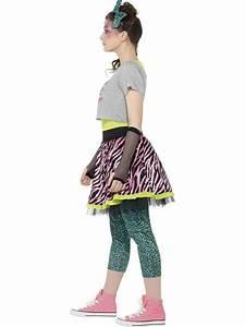 Teen 80s Wild Child Costume - 44345 - Fancy Dress Ball  80s