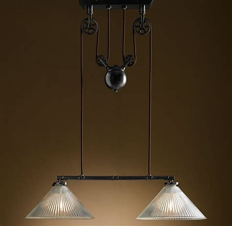 the industrial pulley pendant