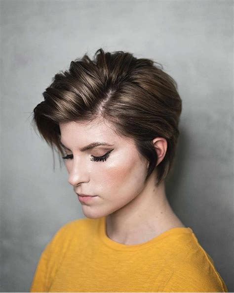 layered short haircuts for with fine hair 2019