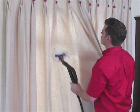 tips to clean window curtains and remove stains