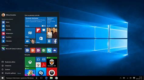 funkcje systemu windows 10 microsoft